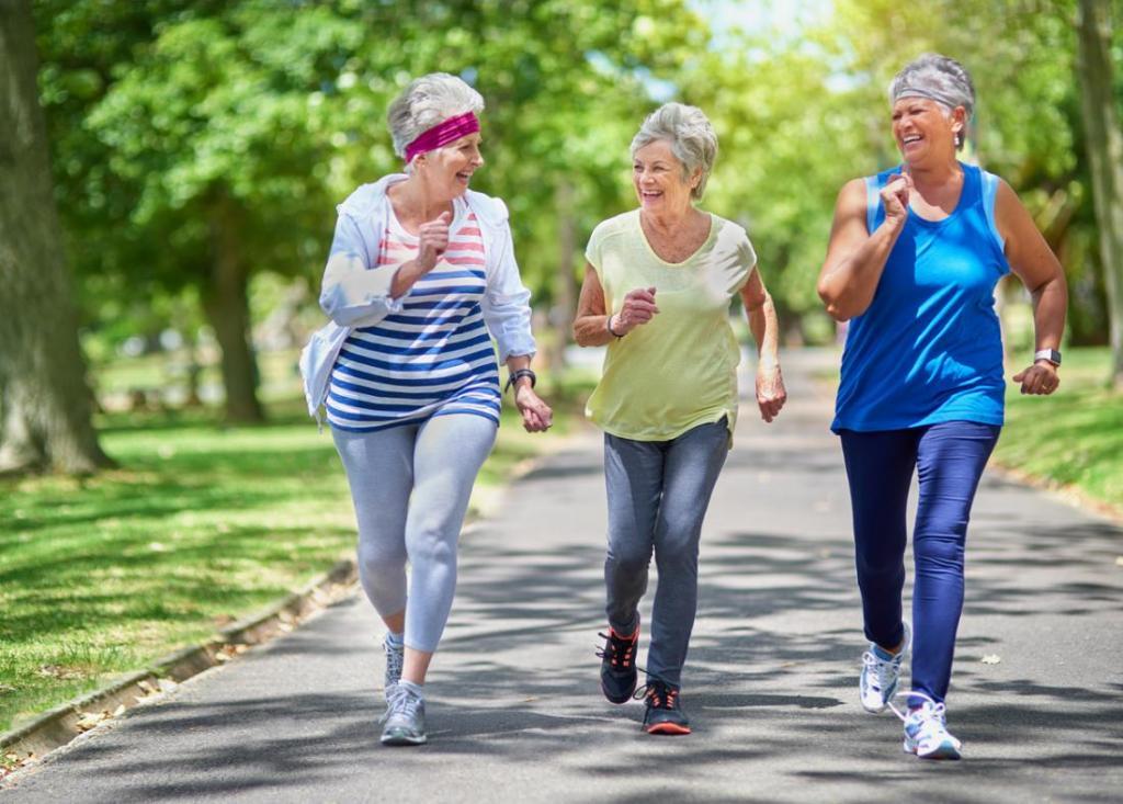 Les femmes actives font mieux face à la ménopause